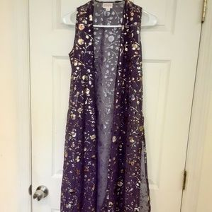Joy by Lularoe elegant gold floral